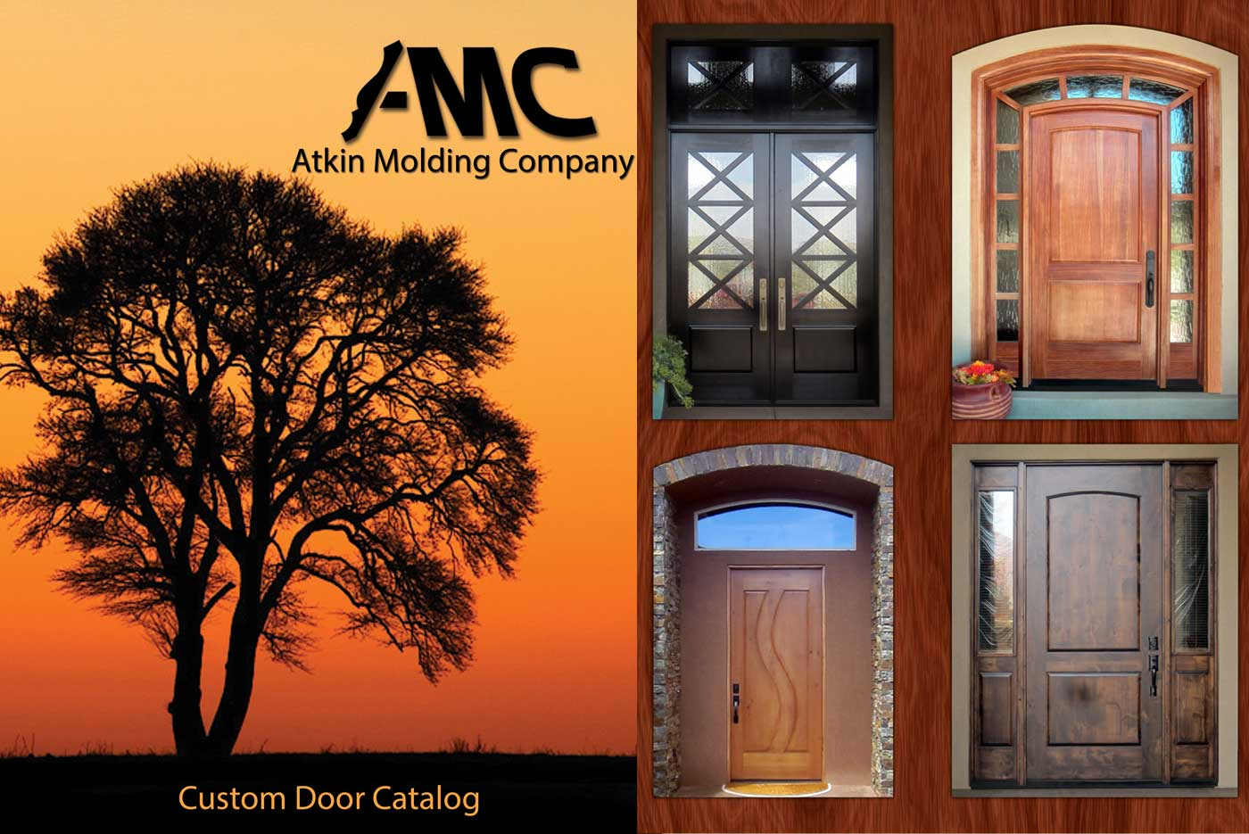 Custom Hardwood Door Catalog & Custom Hardwood Door Catalog Atkin Molding